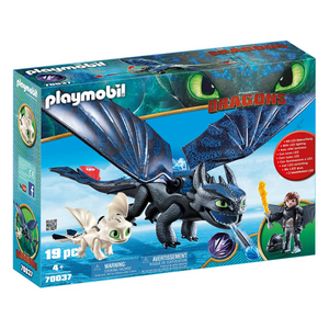 Playmobil Hiccup & Toothless with Baby Dragon