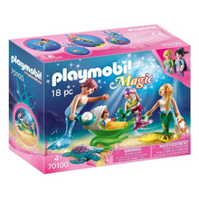 Load image into Gallery viewer, Playmobil Mermaid Family