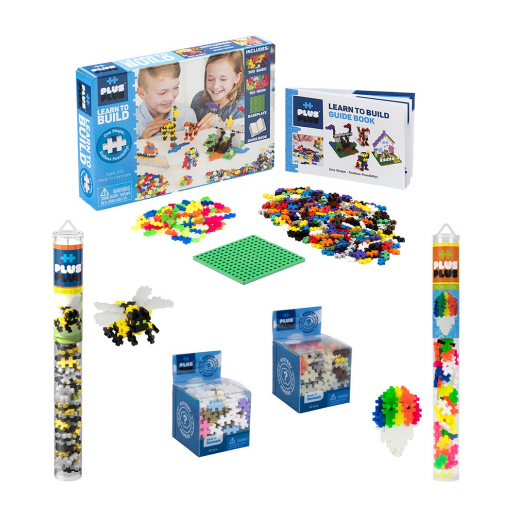 Plus Plus Play at Home Bundle Lite