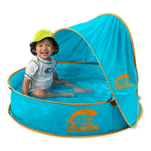 Sun Shade Pop-Up Pool