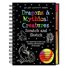 Load image into Gallery viewer, Scratch and Sketch Dragons & Mythical Creatures