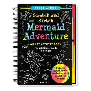 Scratch and Sketch Mermaid Adventure