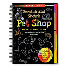 Load image into Gallery viewer, Scratch and Sketch Pet Shop