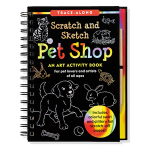 Scratch and Sketch Pet Shop