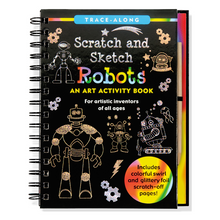 Load image into Gallery viewer, Scratch and Sketch Robots