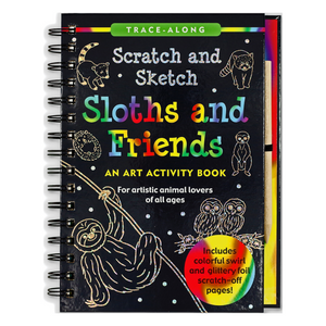 Scratch and Sketch sloths & friends