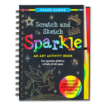Load image into Gallery viewer, Scratch and Sketch Sparkle