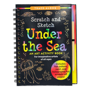 Scratch and Sketch Under the Sea