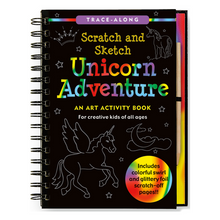 Load image into Gallery viewer, Scratch and Sketch Unicorn Adventure