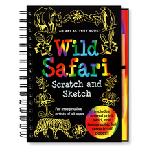 Load image into Gallery viewer, Scratch and Sketch Wild Safari