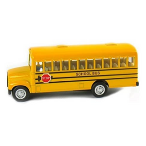 Pull Back School Bus