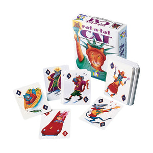 Rat-a-Tat Cat game box and cards