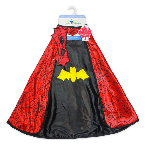 Spider Cape with Mask & Wristbands