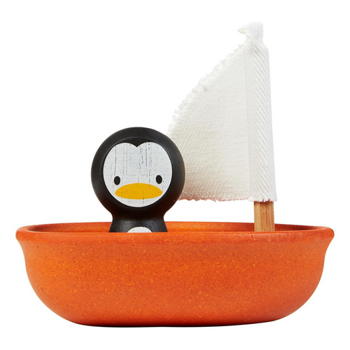 Sailing Boat with Penguin