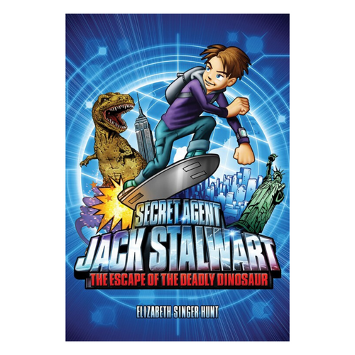 Secret Agent Jack Stalwart #1 Escape of the Deadly Dinosaur