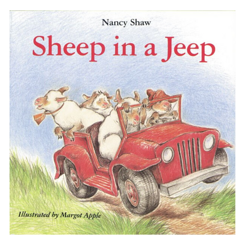 Sheep in a Jeep Board Book