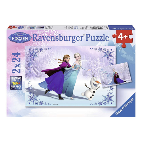 Frozen: Sisters Always 24-Piece Puzzle