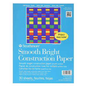 Smooth Bright Construction Paper