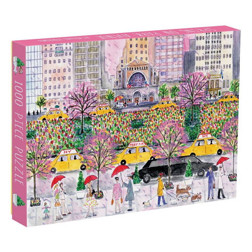 Spring on Park Avenue 1000-Piece Puzzle by Michael Storrings