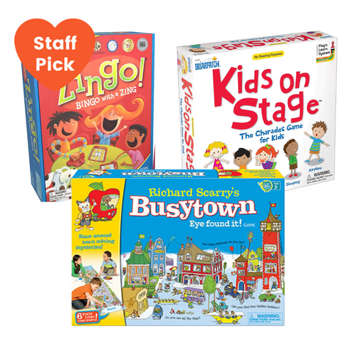 Must Have Board Games for 3 Year Olds