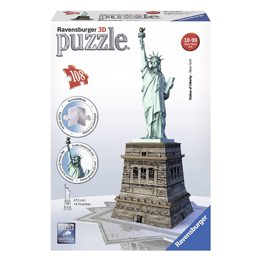 Statue of Liberty 108-Piece 3D Puzzle