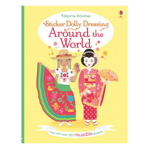 Sticker Dolly Dressing Around the World - activity book cover