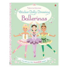Load image into Gallery viewer, Sticker Dolly Dressing Ballerinas - activity book cover