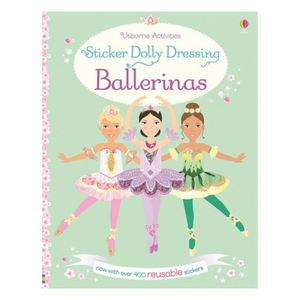 Sticker Dolly Dressing Ballerinas - activity book cover