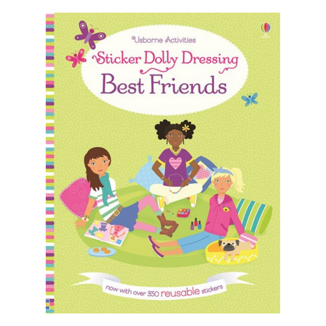 Sticker Dolly Dressing Best Friends - activity book cover