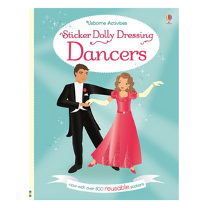 Sticker Dolly Dressing Dancers - activity book cover