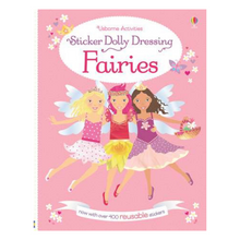 Load image into Gallery viewer, Sticker Dolly Dressing Fairies - activity book cover
