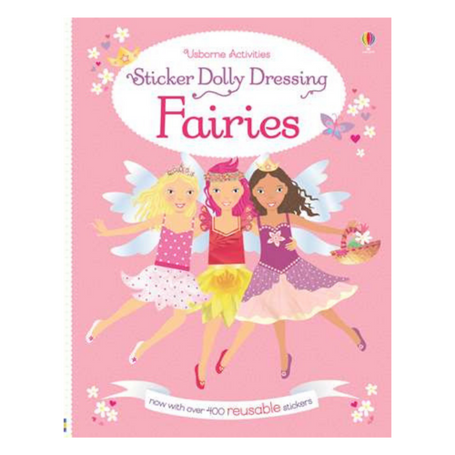 Sticker Dolly Dressing Fairies - activity book cover
