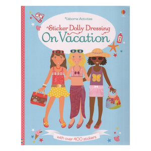 Sticker Dolly Dressing On Vacation - activity book cover