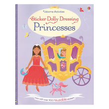 Load image into Gallery viewer, Sticker Dolly Dressing Princesses - activity book cover