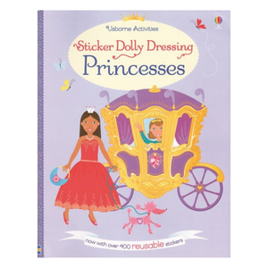 Sticker Dolly Dressing Princesses - activity book cover
