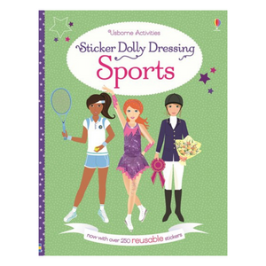 Sticker Dolly Dressing Sports - activity book cover