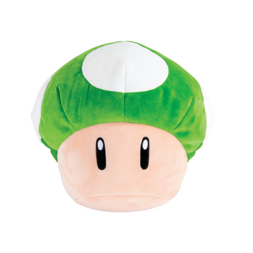 Super Mario Mega 1Up Mushroom Plush