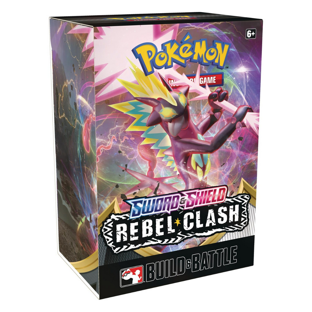 Pokemon Rebel Clash Sword & Shield Build and Battle