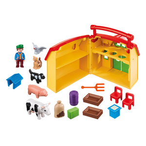 Take Along Farm with Shape Sorter