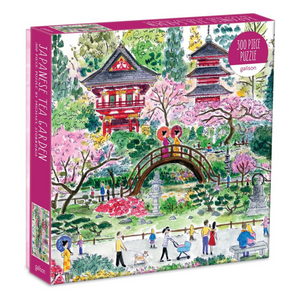 Michael Storrings Japanese Tea Garden 300-Piece Puzzle