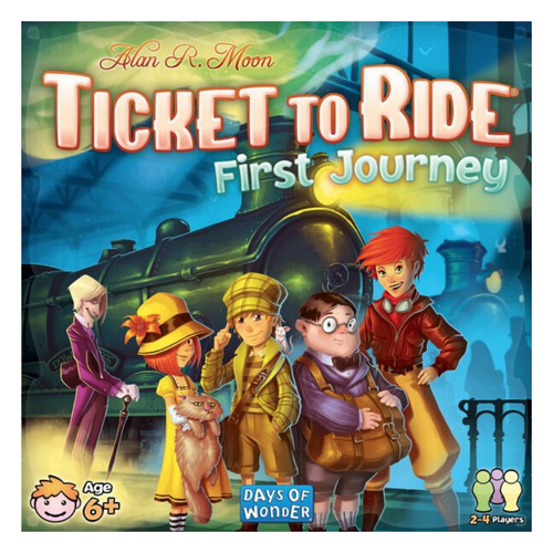 Ticket to Ride First Journey USA