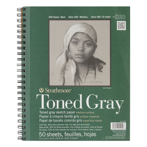 Toned Gray Sketch Pad