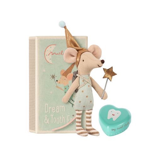 Tooth Fairy Mouse with Box