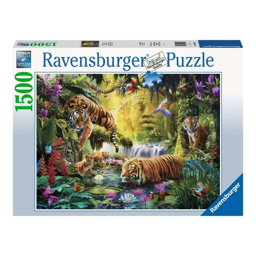 Tranquil Tigers 1500-Piece Puzzle