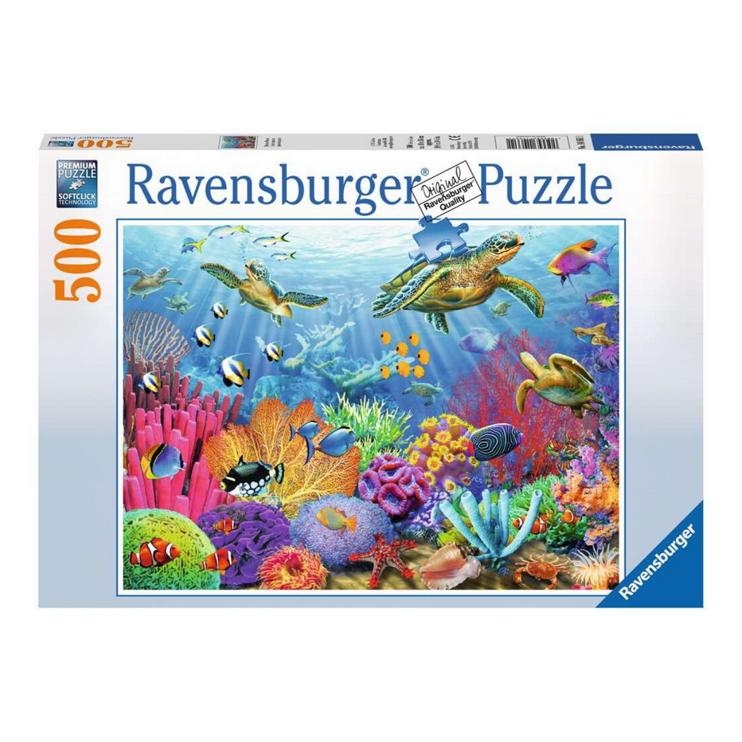 Tropical Waters 500-Piece Puzzle
