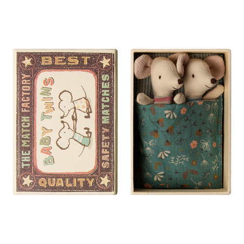 Twin Mice in Matchbox