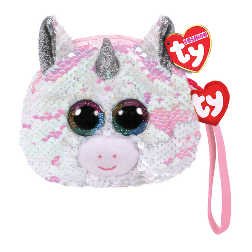 Beanie Boo Diamond Unicorn Sequin Wristlet