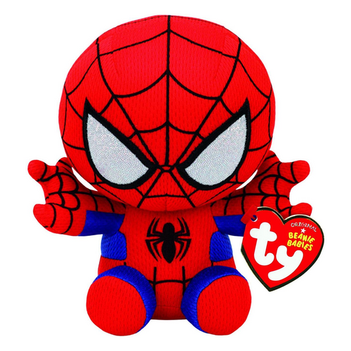 Beanie Boo Marvel Spider Man