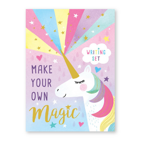 Magical Unicorn Writing Set