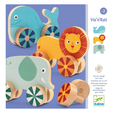Load image into Gallery viewer, Vis'n'Roll Wooden Animal Toy